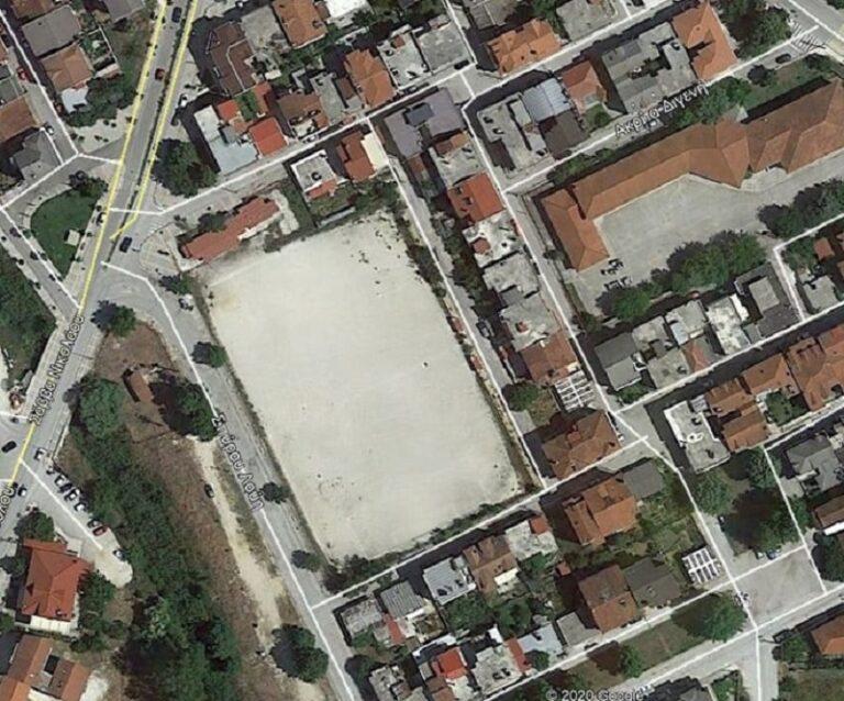 Κατασκευή νέου αθλητικού κέντρου στην περιοχή Σεισμοπλήκτων- Νεοχωρόπουλου