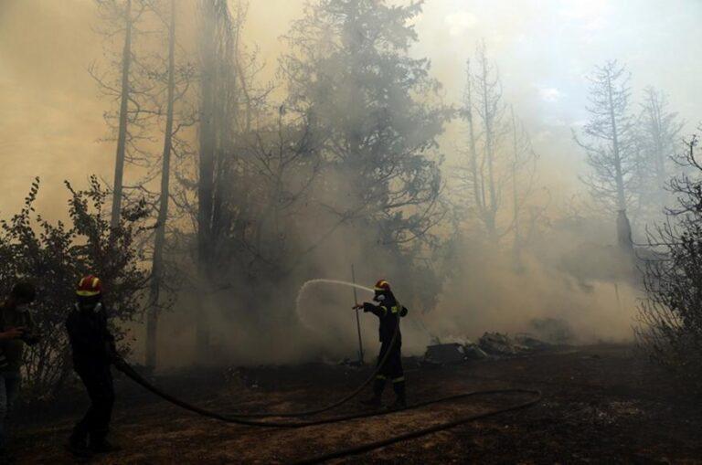 Νεκρός εθελοντής πυροσβέστης στην Ιπποκράτειο Πολιτεία